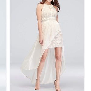 Morgan and Co. high low dress